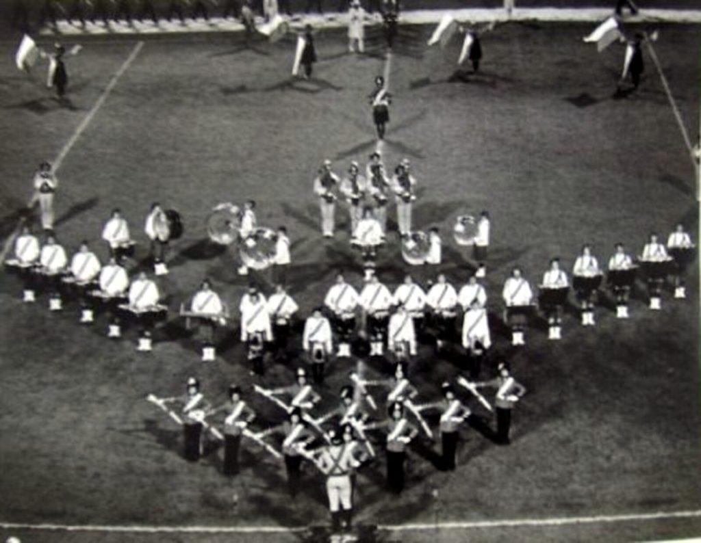 1977 27th Lancers DCI Finals in Mile High Stadium, Denver, CO