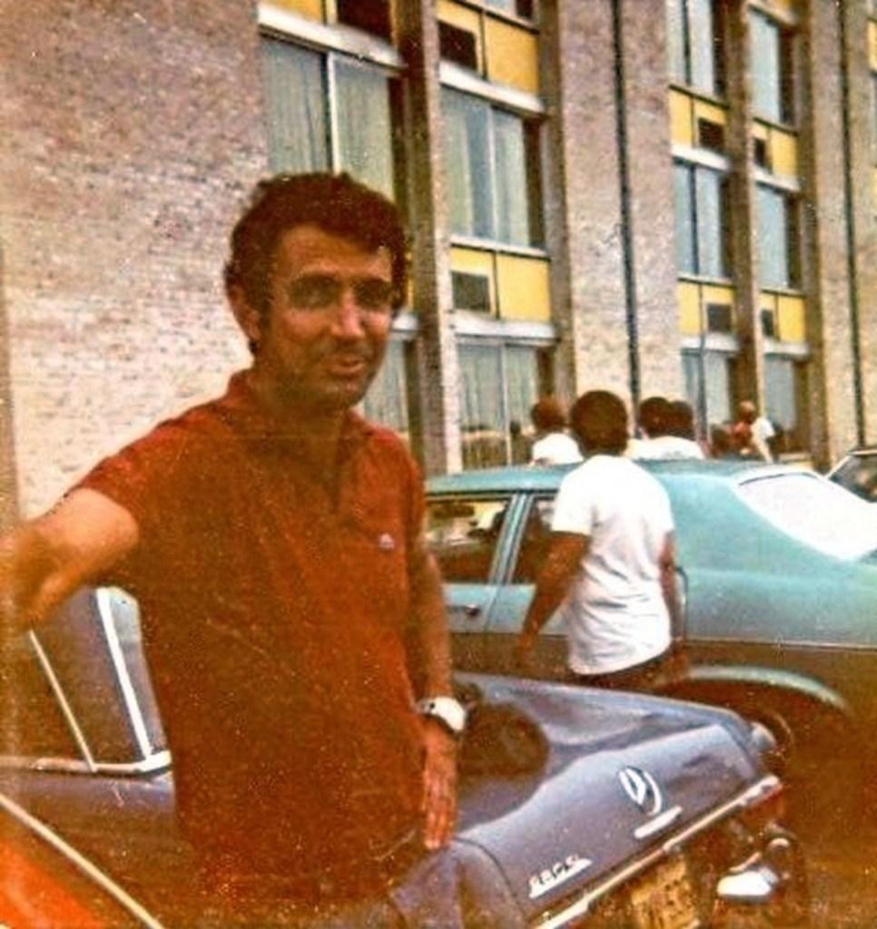 Ralph Pace in 1975, Philadelphia, PA