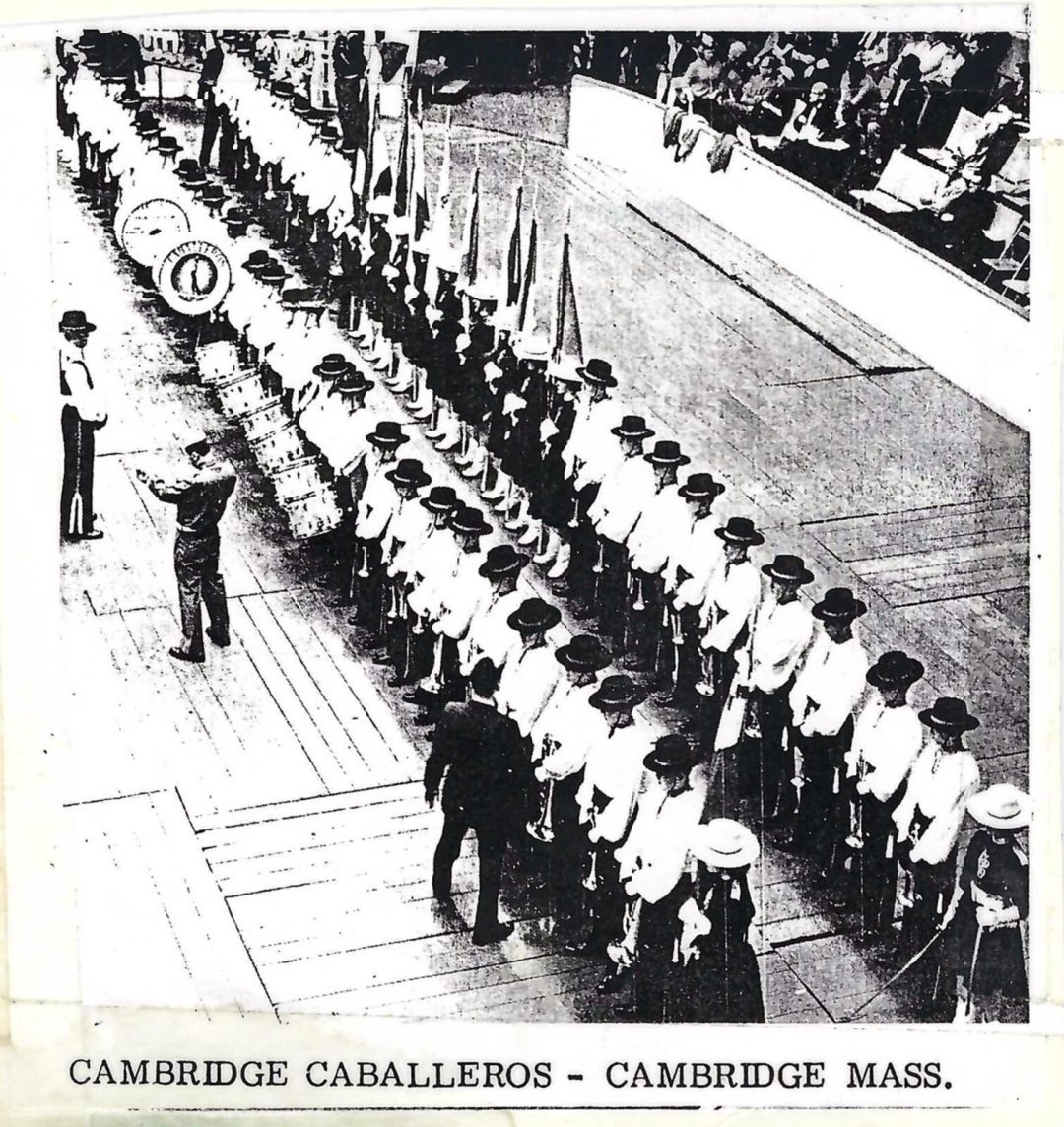 Cambridge Caballeros on the Inspection Line