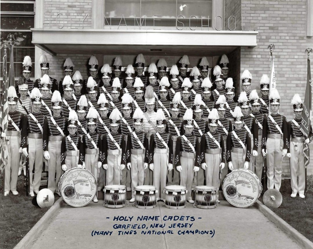 Holy Name Cadets in the mid 1950s