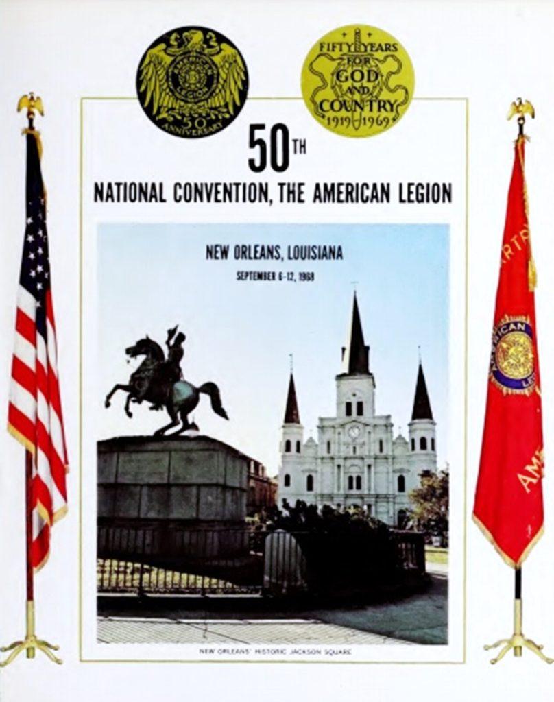 American Legion 50th Anniversary Program Cover