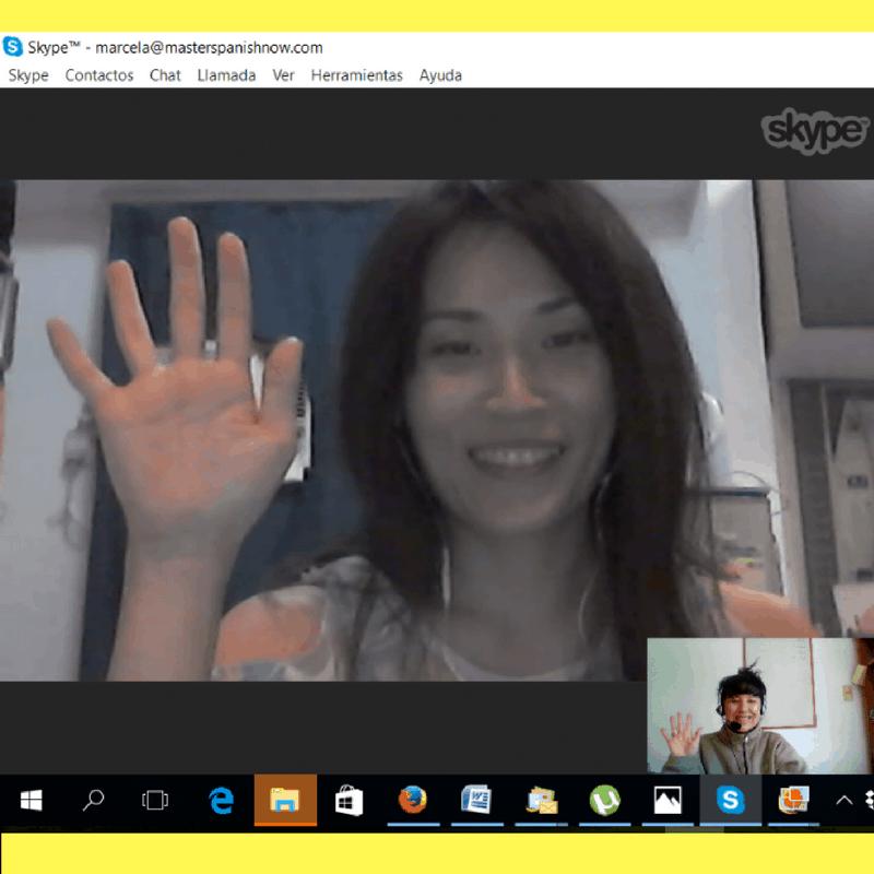 Skype Spanish Class