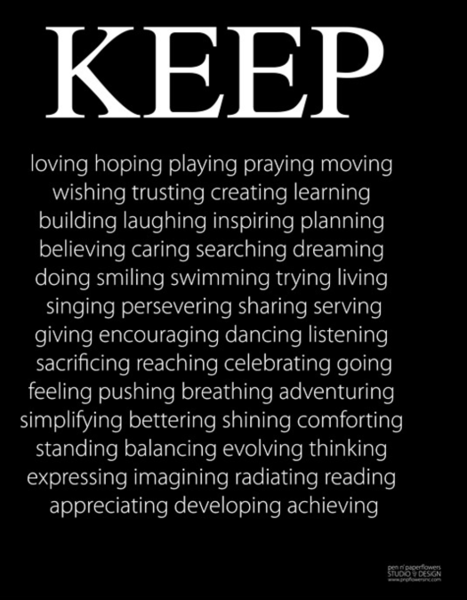 Keep believing