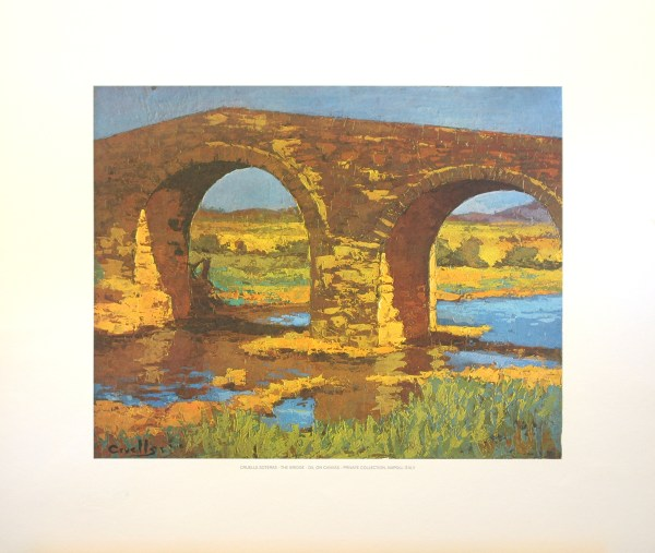 CRUELLS SOTERAS - THE BRIDGE (LITHOGRAPH)