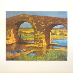 CRUELLS SOTERAS - THE BRIDGE (LITHOGRAPH)