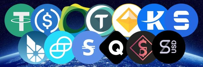 top stablecoins in the crypto market