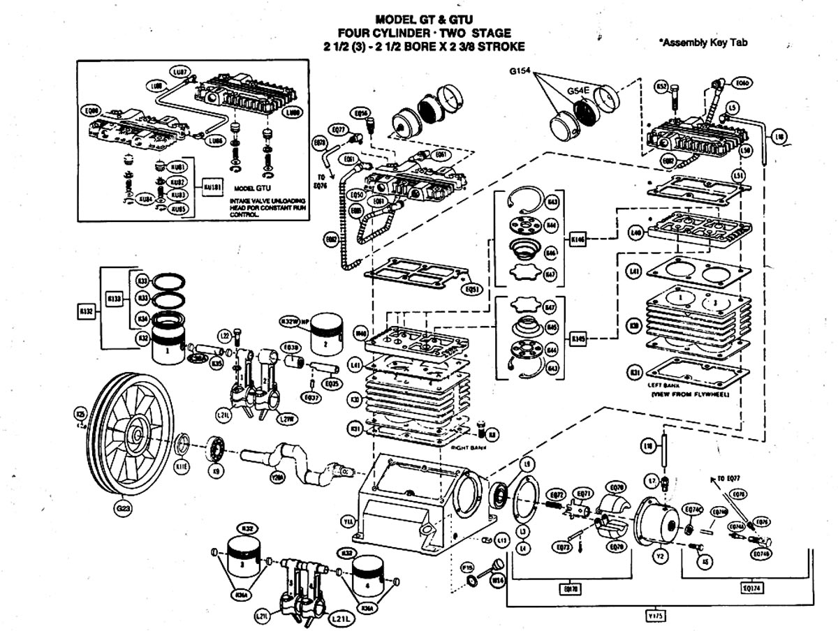 Air Compressor Unloader Valve Schematic