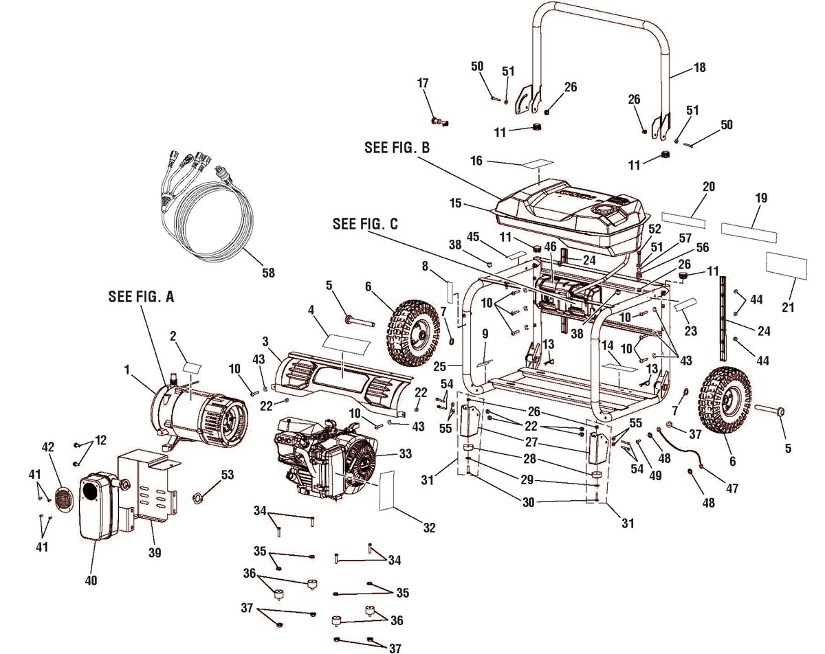 Husky Electric Pressure Washer Parts