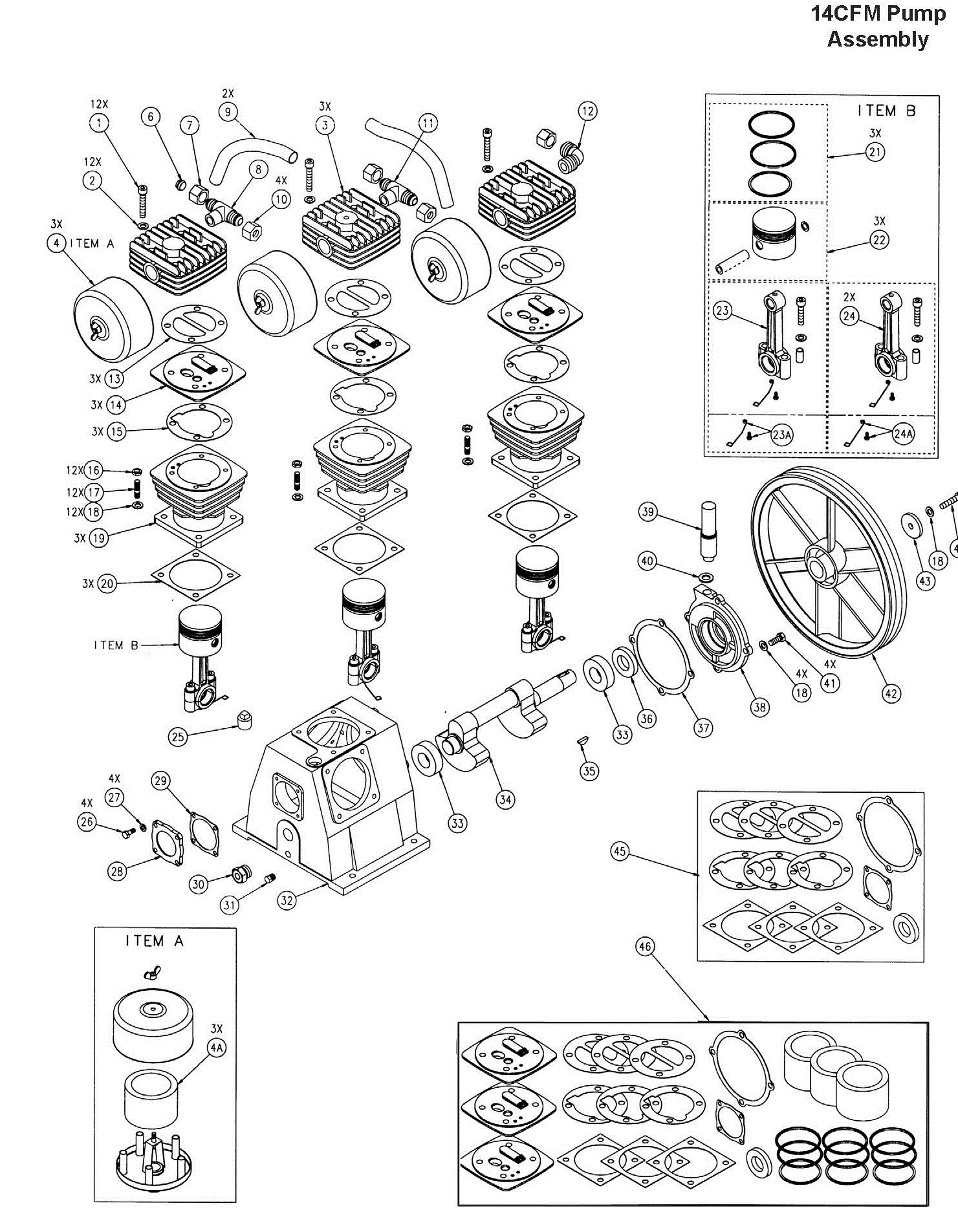 Coleman Powermate Mla La Pump Parts