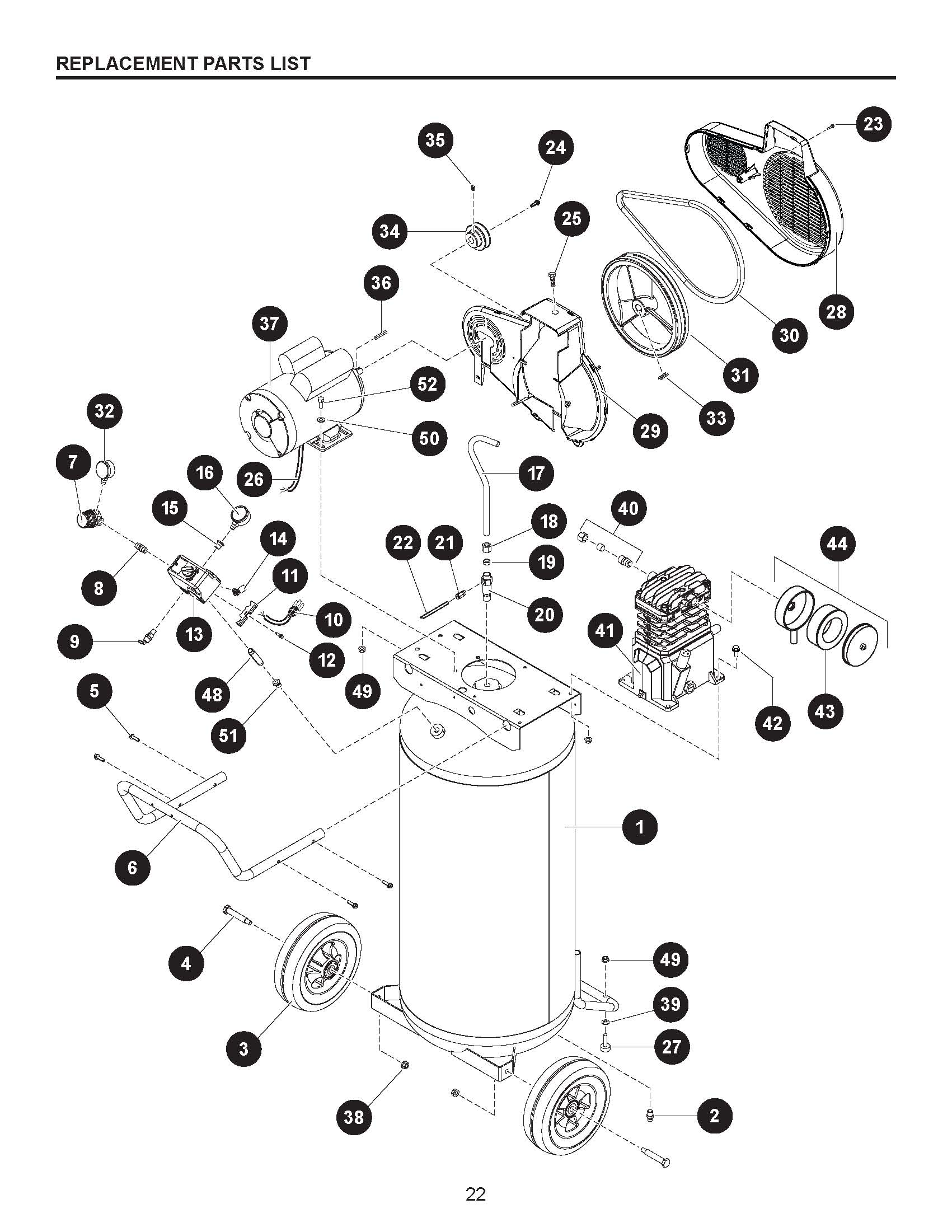 Kobalt Air Compressor Wiring Schematic