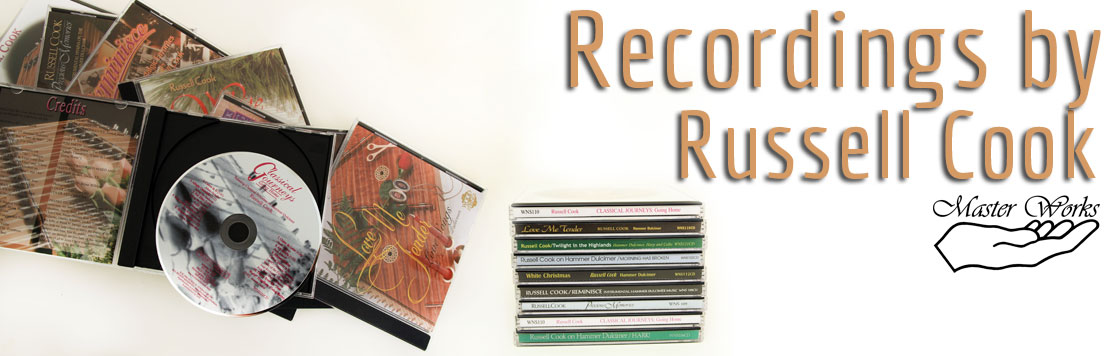 Recordings by Russell Cook