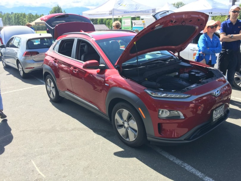 Move 2 Electric Comox Valley Electric Vehicle Event 2019 Hyundai Kona