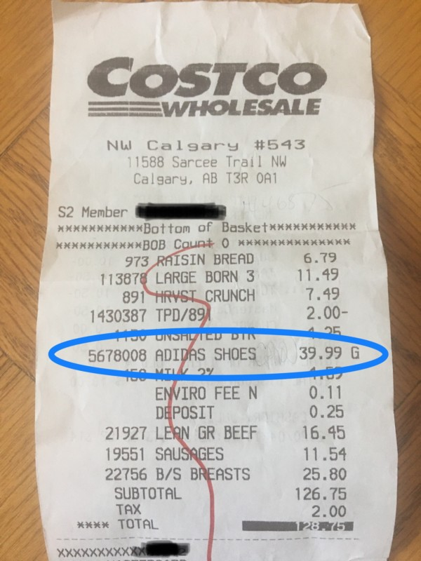 Costco Price Adjustment Follow-Up