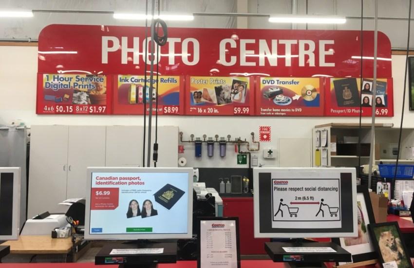 Costco Photo Centre Desk