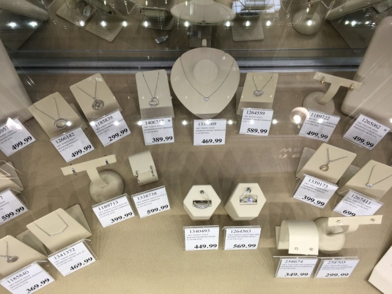 Costco Jewellery