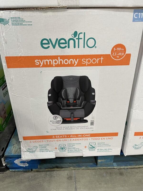 Costco Evenflo Symphony Car Seat Review