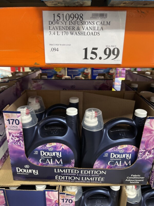 Downy Infusions CALM scent booster fabric softener