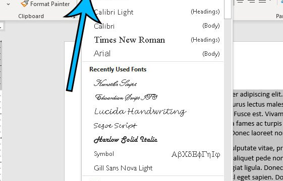 how to change entire document font in Microsoft Word