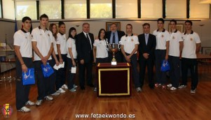 Reconocimiento CSD, taekwondo español 2010.
