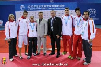 2010 Sport Accord Games, España 1ero Gral.