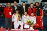 Equipo español Mundial ParaTaekwondo 2010, Medallistas.