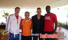 26_Henk Meijer (NED), Jesus Tortosa e Ireno Fargas (ESP) y Pascal Gentil (FRA)