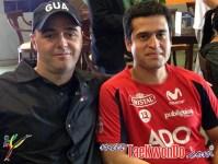 Claudio Aranda de Guatemala y Felipe Soto de Chile.