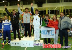 podium junior masculino -73kg