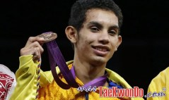 London 2012_Fly_taekwondo_Oscar-Munoz_COL_Bronce