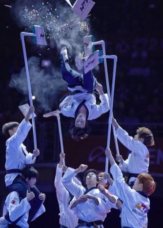 GP SUZHOU 2014, taekwondo Exhibicion