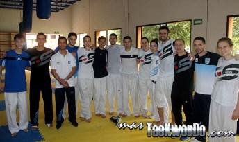 Campamento en Car La Loma, Septiembre 2014, Argentina Team