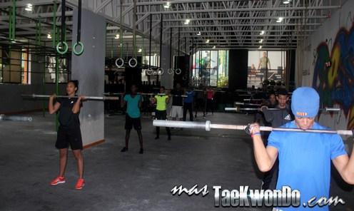 Equipo dominicano de Taekwondo en La Loma