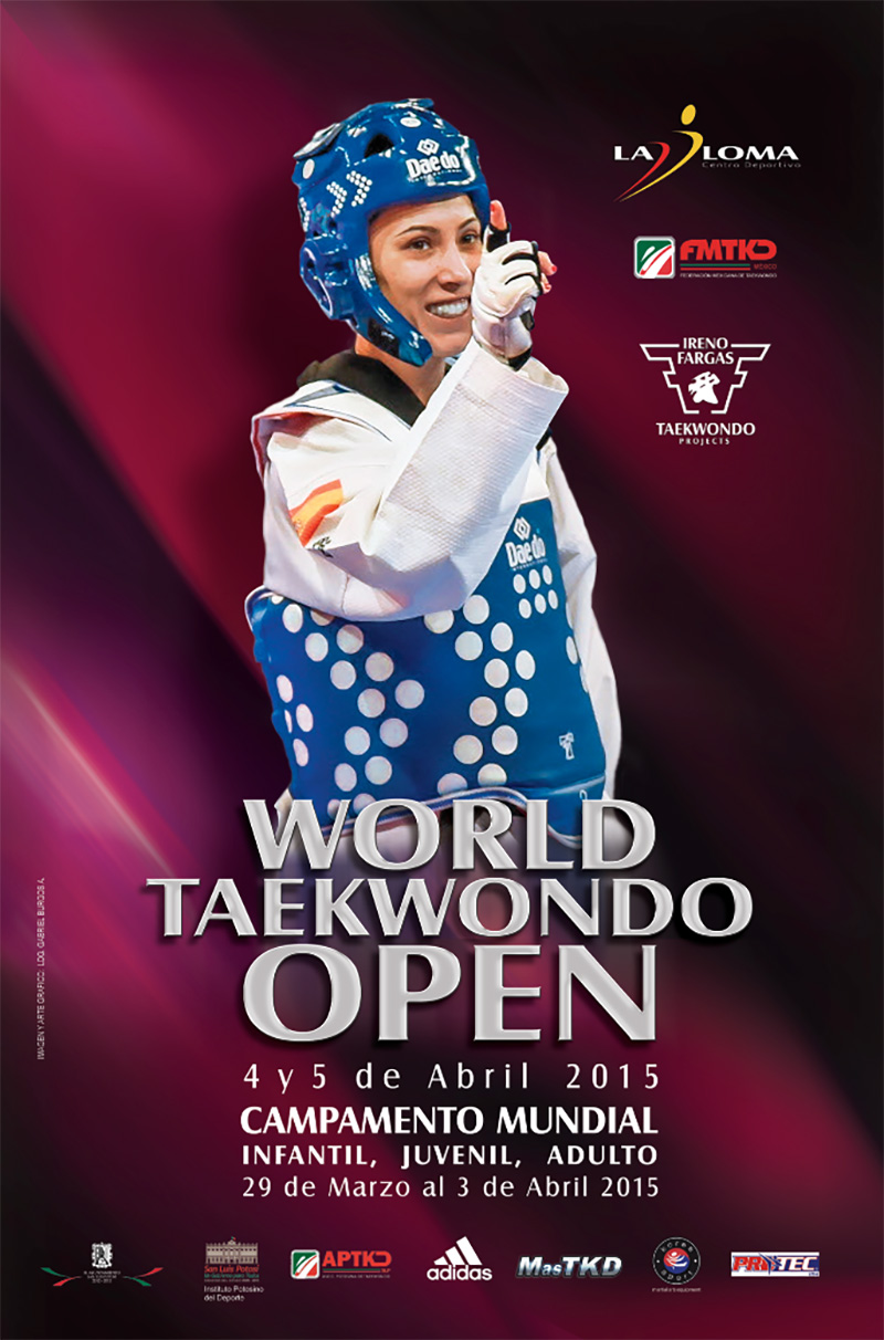 Poster World Taekwondo Open 2015