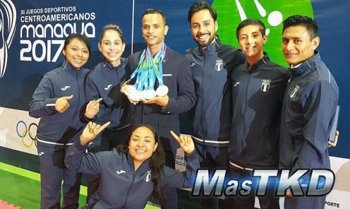 Guatemala conquista Centroamericanos de Taekwondo