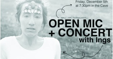 The Open Mic Concert, hosted by ASPLU, The Matrix and Saxifrage, will take place tonight. If you would like to perform, email lasrgm@plu.edu. Photo courtesy of Saxifrage.