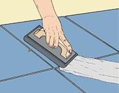 الحشو من طبقات البلاط الأرضي: تعليمات خطوة بخطوة