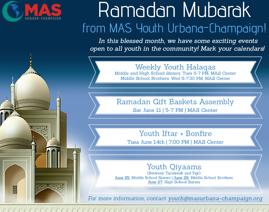MAS UC Ramadan Events