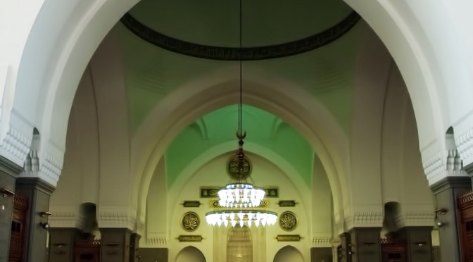 Photo: Masjid Quba, Medina.