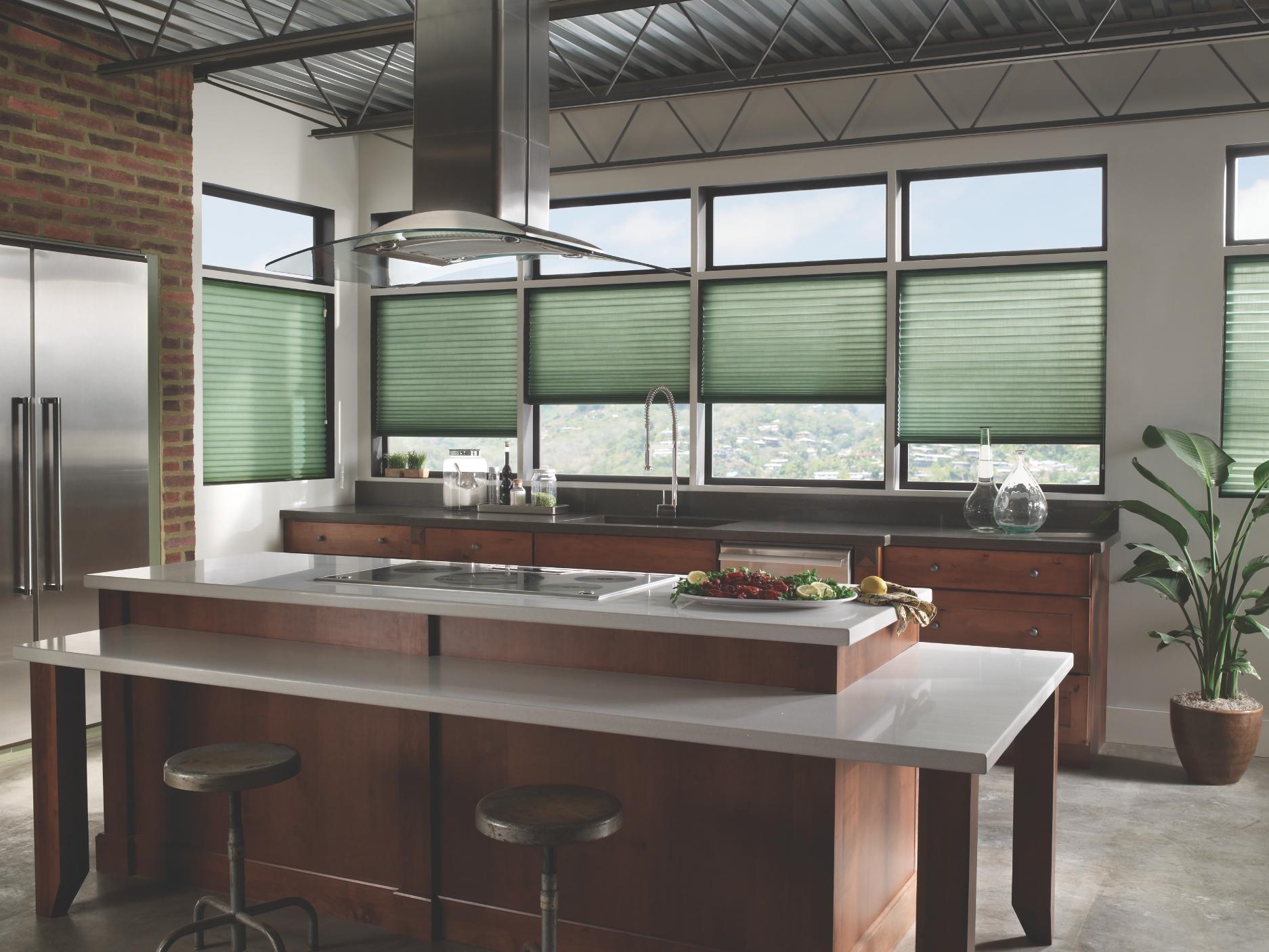 Modern Kitchen Window Treatments
