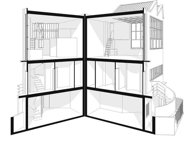 Le Corbusier Redrawn By Steven Park BUILD Blog