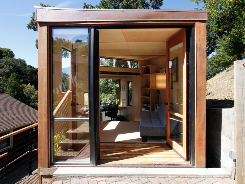 Students Design And Build A Sustainable Modular Office