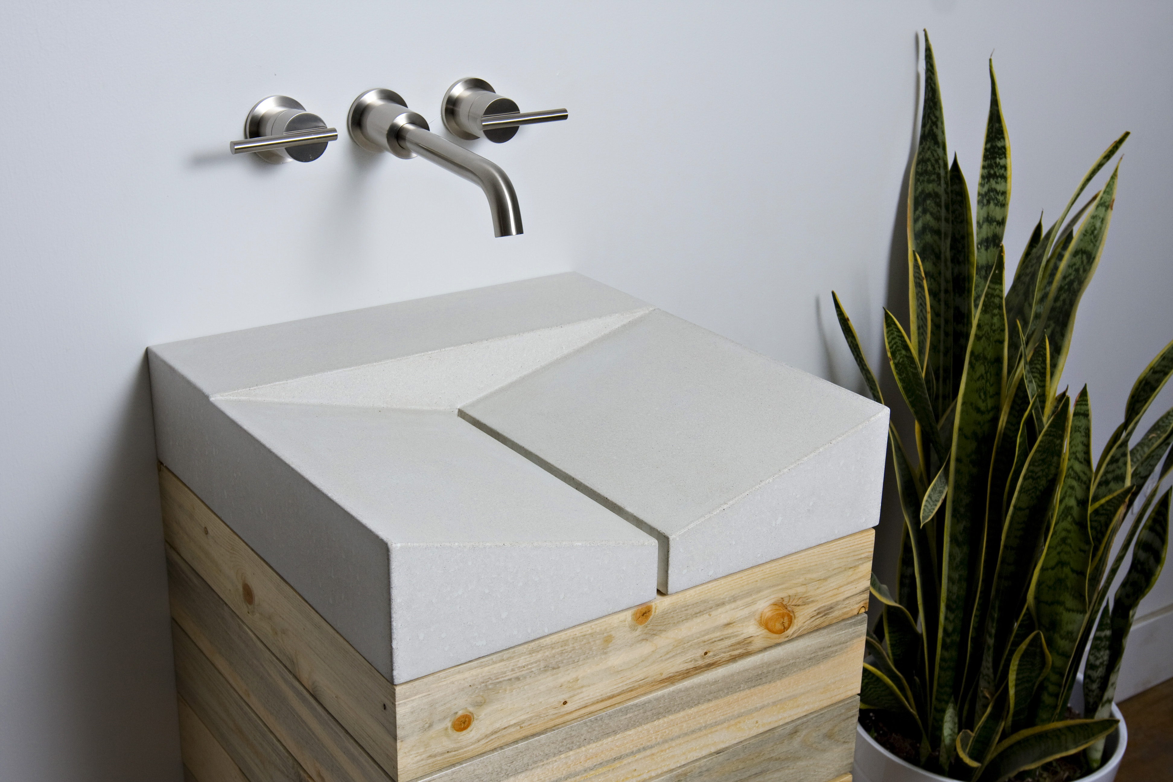 Sustainable Concrete Sink By Fiddlehead Designs