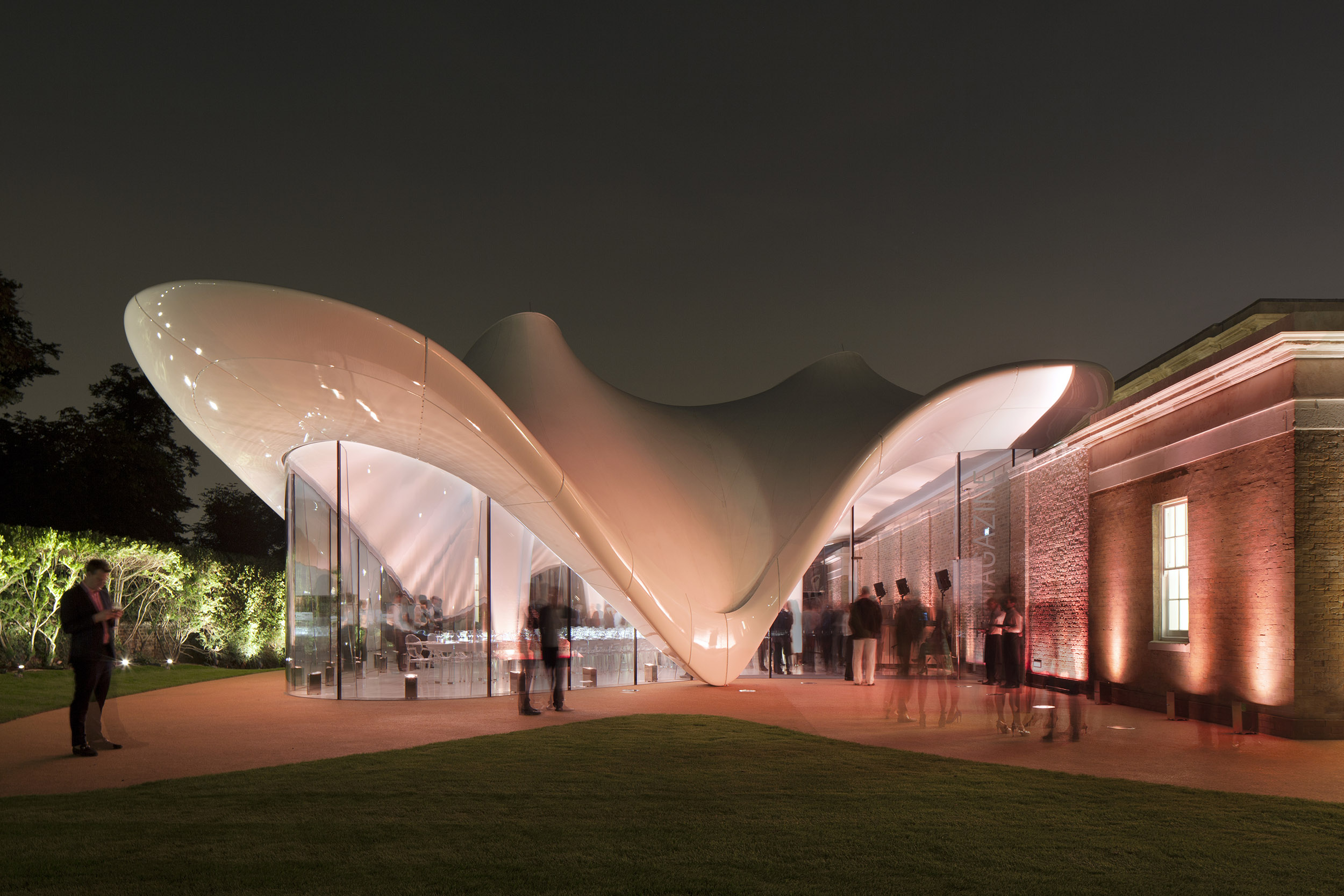 The Serpentine Sackler Gallery By Zaha Hadid Opens