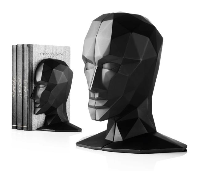 Unique Modern Bookends By Karim Rashid