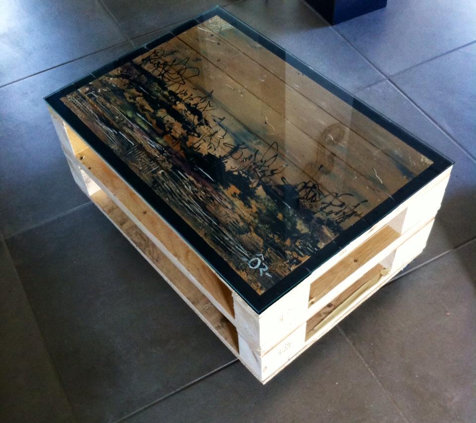 une table basse en palette un nouveau