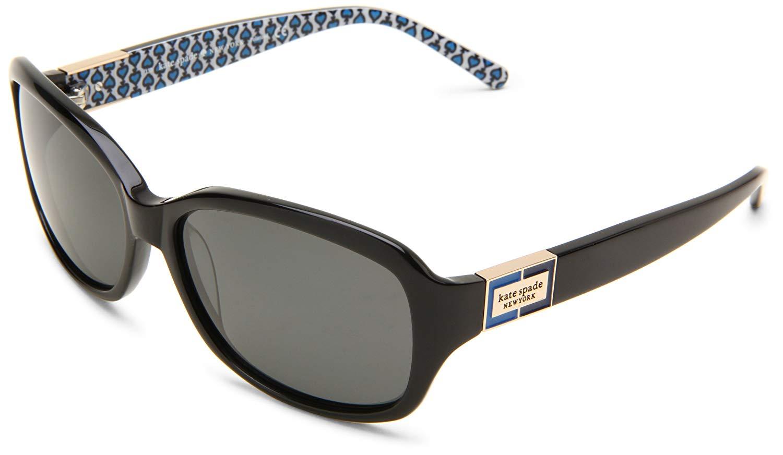 Ladies black sunglasses by Kate Spade