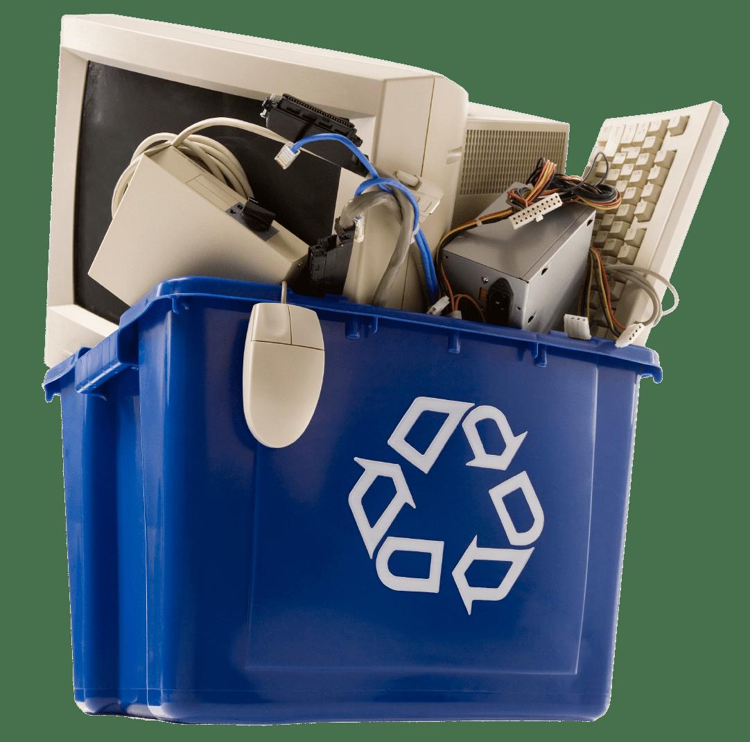 Recyclage de produits électroniques