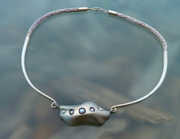 silver pearl necklace_B © Holly Troy 2014