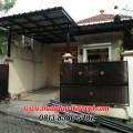 Hasil Pemasangan Kanopi Baja Ringan Atap Spandek Elegan di Villa Bogor Indah 3, Kedung Halang, Bogor