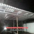 Hasil Pemasangan Kanopi Baja Ringan Atap Alderon di Jl. Kesehatan 1, Bintaro, Jakarta Selatan